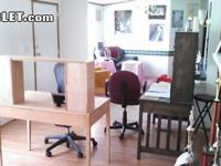 2 large desks in room by there self,wi/fi,tanning
