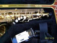 this alto sax in as new as you can get with out paying