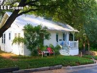 Charming cottage in Clarksville / Old West Austin.