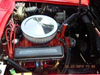 327 c.i. chevy engine complete with 462 double hump