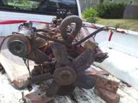 Its a 1966 327 chevy smallblock., has been stored in