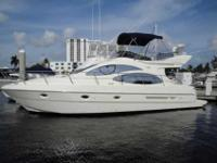 2005 Azimut 42 SEDAN BROKERAGE LISTING. 2005 42 AZIMUT