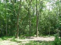 Just under 4 acres.Camp and or build. Located North of