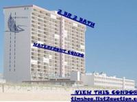 This is the Carousel's oceanfront bedroom floor plan. 2