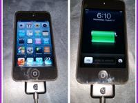 32g 4th Gen ipod with new USB charging cable it has 686
