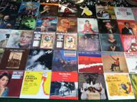 Offering an assorted mix of (40) Vinyl 45 RPM's, (56)