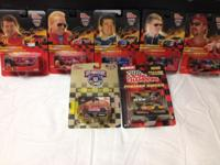This is a Lot of 33 1/64th Scale NASCAR Sprint Cars, 19