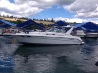 Please contact boat owner Bob at . V-Drives, new cabin