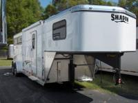 2012 SHADOW three HORSE SLANT LOAD GOOSENECK WITH seven