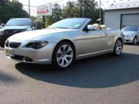 2006 BMW 650i Convertible, Like-New Condition, Only 24k