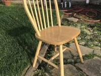 I have 33 wooden chairs, all alike the one pictured. 17