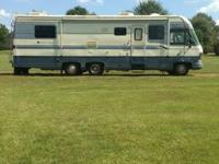 93 Holiday Rambler 33ft with only 66k miles. Rv in