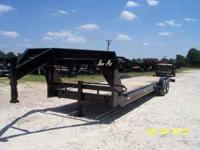 2010 Sure Pull, 33' Gooseneck Car Hauler 2-7,000# Brake