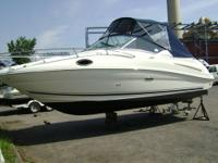 This nearly perfect 33' Sea Ray 330 Sundancer 1995 is