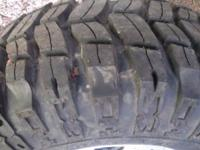 I have 4 BFG KM2 Mud Terrain Tires 33 x 12.50 x 15 with