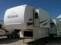 Sedona model  5th wheel for sale;  Smart Fan,