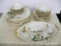 33 pc place setting serving dishes. Made in Occupied