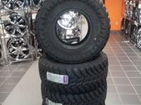 We have a set of 33x12.50-15 AMP M/T OFFROAD TIRES IN