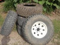 1 new cooper discoverer stt mud tire. 4 cooper
