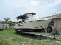 2001 Mako 282 CC THIS IS A BROKERAGE BOAT. THIS 2001
