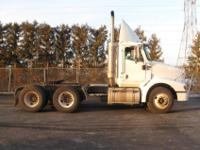 2005 I-H 9200 tandem axle day cab tractor. Mileage is