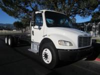 2006 Freightliner M-2 long wheel base tandem. Mileage