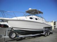 GREAT BOAT!! TWIN ENGINES!The 270 Wellcraft Coastal is
