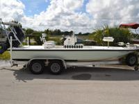 21' RELEASE Tarpon Bay 21 FLATS BOAT for sale in