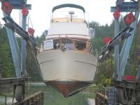 The JUDY ANN is powered by a single 120 Ford Lehman,
