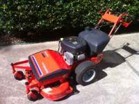 "Simplicity Pacer series 34"" mower deck. 13 HP Transaxle"