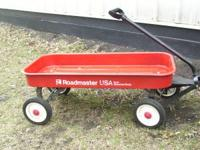 i have for sale a 34 red roadmaster wagon . its in good