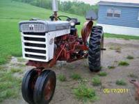 this is a early 60's model 340 farmall tractor. runs