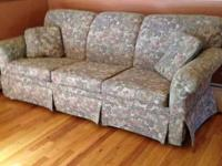 We have recently remodeled and this couch, although in