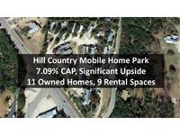 Ingram Kerrville TX Hill Country Mobile Home Park For