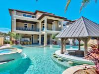 Masterful coastal contemporary residence perfectly