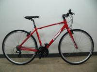 I have a men's red Giant Escape 2 Road Bike 2013 model,