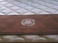 new queen pillowtop mattress, 13 in, pocketed coil ,