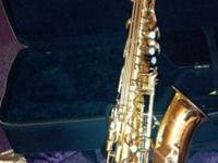 Perfect for the first time sax player. Fair condition