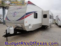 WOW what a magnificent bunk home travel trailer!