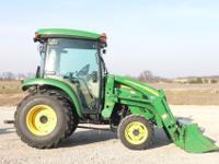 2007 John Deere 3720 Tractor. 44 Engine Horsepower 37