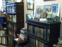 We are selling our antiquarian book store at 65 E.