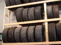 Andersen Automotive has three mudd tires in stock $50