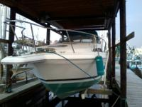 Roomy clean well equipped 32 ft Martinique. Great
