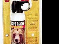 Guard Alaska ultra hot bear repellent has proven so