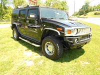 2007 Hummer H2 4X4! Talk about riding in comfort! SEATS