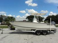 2005 Contender 21 CENTER CONSOLE 2005 Contender 21 is a