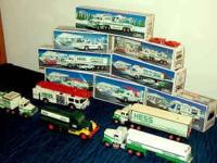 I have a number of collectable Hess Toy Trucks