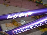 I have a purple twenty in. freesyle girl bike for