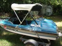 original owner, this little boat has only 130 hrs on