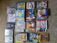 35 kids DVD various